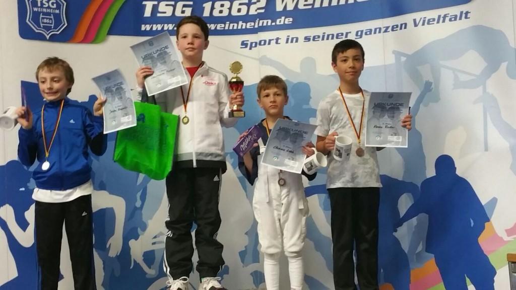 Clemens Wosch erreicht Rang 3